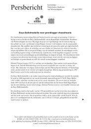 Persbericht KNAW (pdf) - Knmi