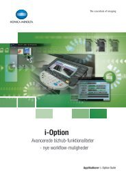 i-Option brochure - Konica-Minolta