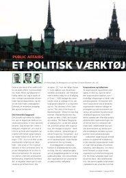 Et politisk værktøj mEd potE - Dansk Kommunikationsforening