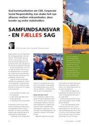 4 EN FæLLES SAG - Dansk Kommunikationsforening