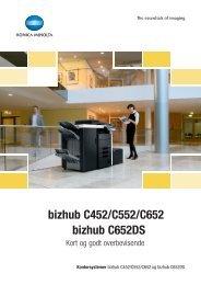 Brochure bizhub C452, PDF (DK) - Konica-Minolta