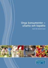 Unga konsumenter – utsatta och kapabla - Konsumentverket