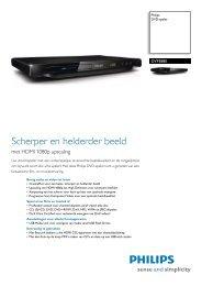 DVP3880/12 Philips DVD-speler