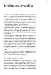 2. Jordbruket utveckling, sid 11-20