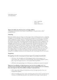 Remissvar arkitektur, form och design (pdf 104 kB) - Kungliga ...