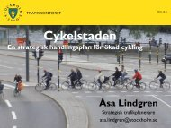 Cykelstaden (pdf 3,2 MB) - KTH