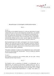 Bemærkninger til lovforslagets enkelte ... - Kulturstyrelsen