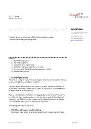 Vejledning til formidlingspuljerne 2013 - Kulturstyrelsen