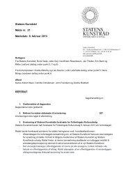 Referat af møde i Statens Kunstråd den 6. februar 2013 - Kunst.dk