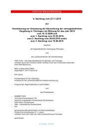 4. Nachtrag vom 23.11.2010 zur Vereinbarung ...250 KB   05.07.2011