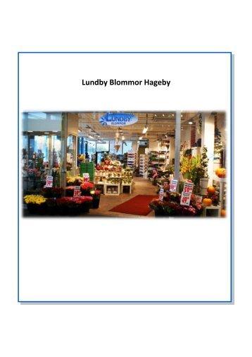 Lundby Blommor Hageby