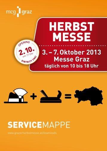 Grazer Herbstmesse 2013_Servicemappe