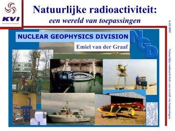Natuurlijke radioactiviteit: - KVI