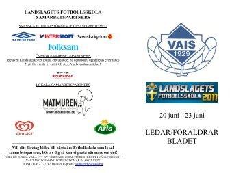 landslagets fotbollsskola samarbetspartners - Laget.se