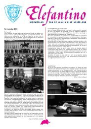 oktober 2006 - Lancia Club Nederland
