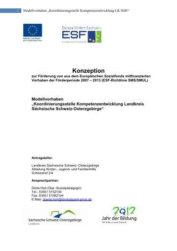 Konzeption Koordinierungsstelle Kompetenzentwicklung