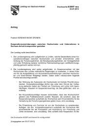 Drs. 6/2097 - Der Landtag von Sachsen-Anhalt