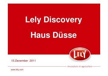 LELY-Discovery Präsentation