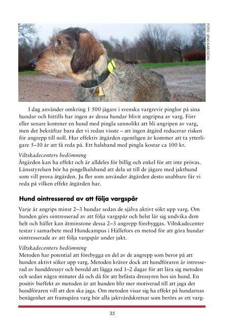 Rovdjur och hundar - Länsstyrelserna