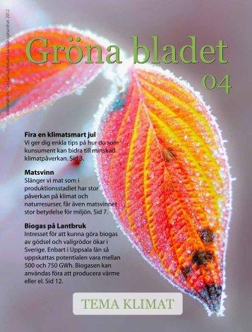 Gröna Bladet nr 4 2012.pdf - Länsstyrelserna