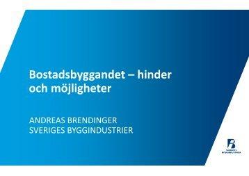 Sveriges byggindustrier Andreas Brendinger - Länsstyrelserna