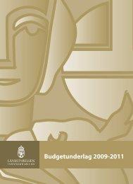 Budgetunderlag 2009-2011 - Länsstyrelserna