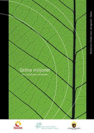 Gröna miljoner - den outnyttjade potentialen - Länsstyrelserna