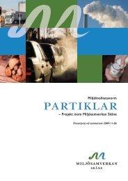Miljökvalitetsnormer för partiklar - Länsstyrelserna