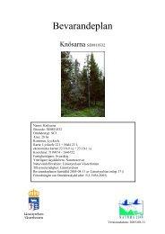 Bevarandeplan Natura 2000 - Länsstyrelserna