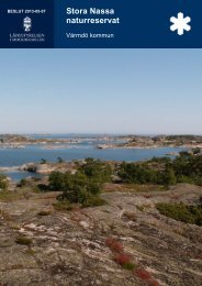 Stora Nassa naturreservat - Länsstyrelserna