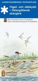 Fågel- och sälskydd i Östergötlands skärgård - Länsstyrelserna