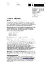 Introduktion till MIFO Fas 1 - Länsstyrelserna