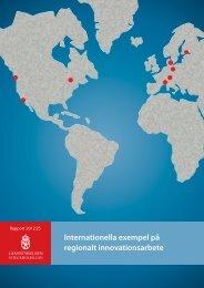 Internationella exempel på regionalt ... - Länsstyrelserna