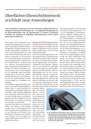 mehr - Laser Magazin