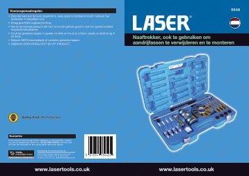 yright LASER Copyright LA Copyright LASER ... - Laser Tools