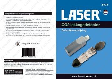 CO2 lekkagedetector - Laser Tools