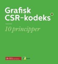 Grafisk CSR-kodeks - LaserTryk.dk