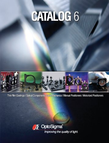 OptoSigma General catalog 2010 [22.08 MB] - Laser 2000 GmbH