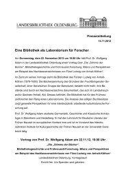 Vortrag von Prof. Dr. Wolfgang Adam am 22.11.2012 - der ...