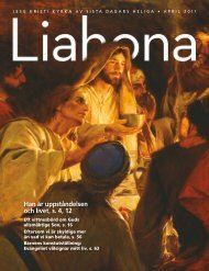 April 2011 Liahona - La Iglesia de Jesucristo de los Santos de