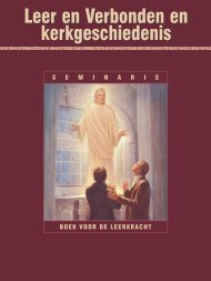 Leer en Verbonden en kerkgeschiedenis - The Church of Jesus ...