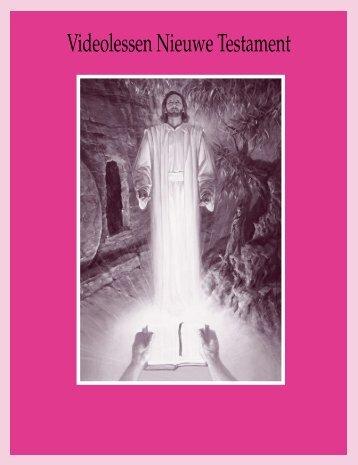 Videolessen Nieuwe Testament