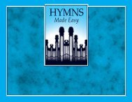 HYMNS MADE EASY - The Church of Jesus Christ of Latter-day Saints
