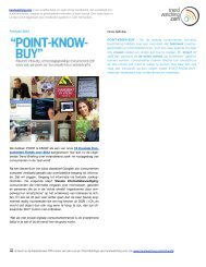 Download POINT-KNOW-BUY als PDF - Trendwatching