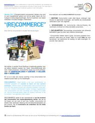 Download RECOMMERCE als PDF - Trendwatching