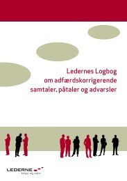 Ledernes Logbog om adfærdskorrigerende samtaler, påtaler og ...