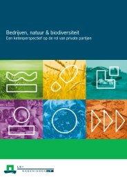 12-017 Bedrijven, natuur & biodiversiteit; Een ketenperspectief ... - LEI