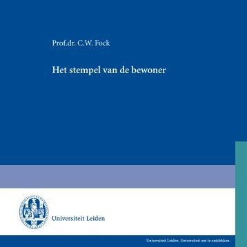 Het stempel van de bewoner - Universiteit Leiden