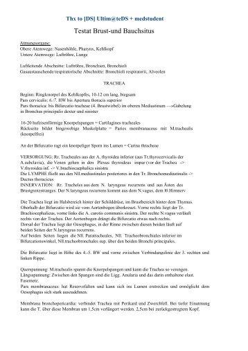 Testat Brust-und Bauchsitus - Leipzig-Medizin.de