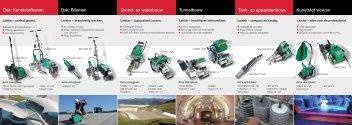 Dak: Kunststofbanen Dak: Bitumen Tank- en ... - Leister